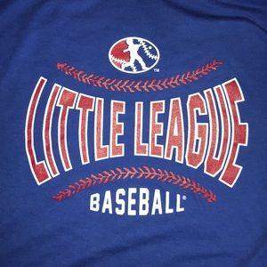 Little League Baseball Pledge Shirt NWT sz L
